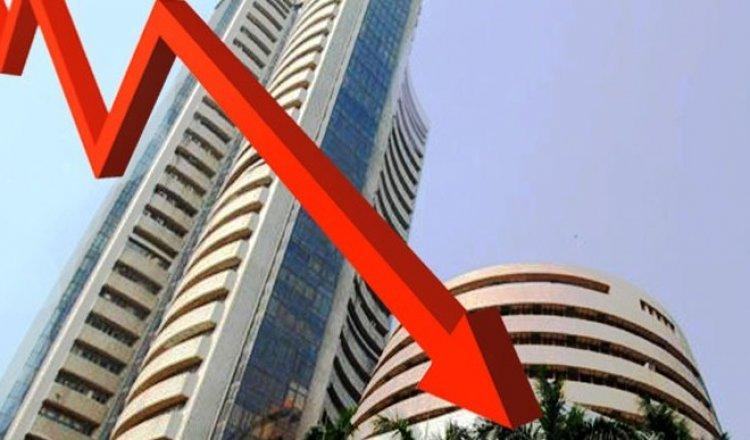 एग्जिट पोल के नतीजों से शेयर बाजार में हताशा, सेंसेक्स 984 अंक लुढ़का