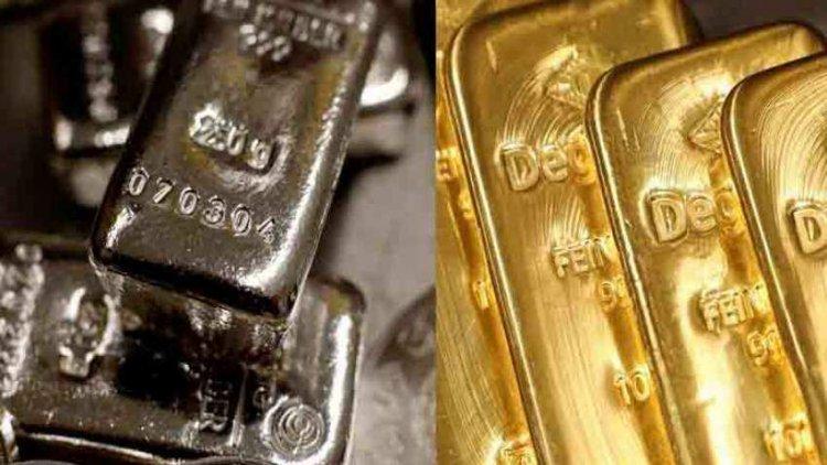सोना 795 रुपये, चांदी 1,260 रुपये लुढ़की