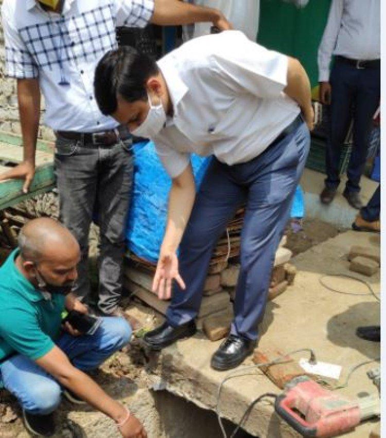 अस्सी नदी का नाला अब गंगा में नहीं गिरेगा : कौशलराज शर्मा