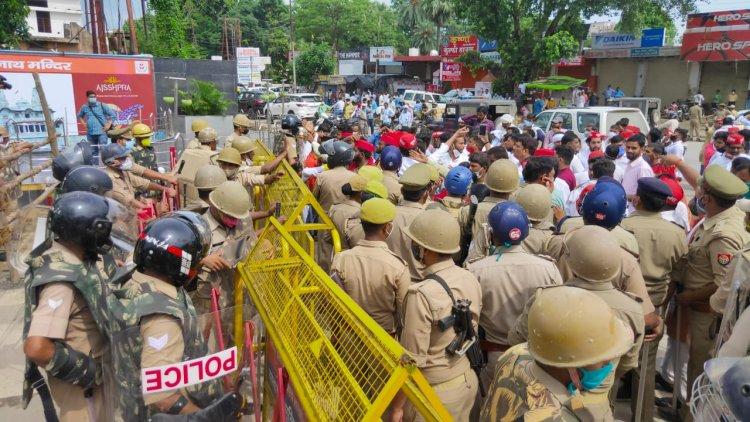 गोरखपुर : भाजपा व सपा प्रत्याशियों में विवाद, सपा के पूर्व  जिला पंचायत सदस्य घायल