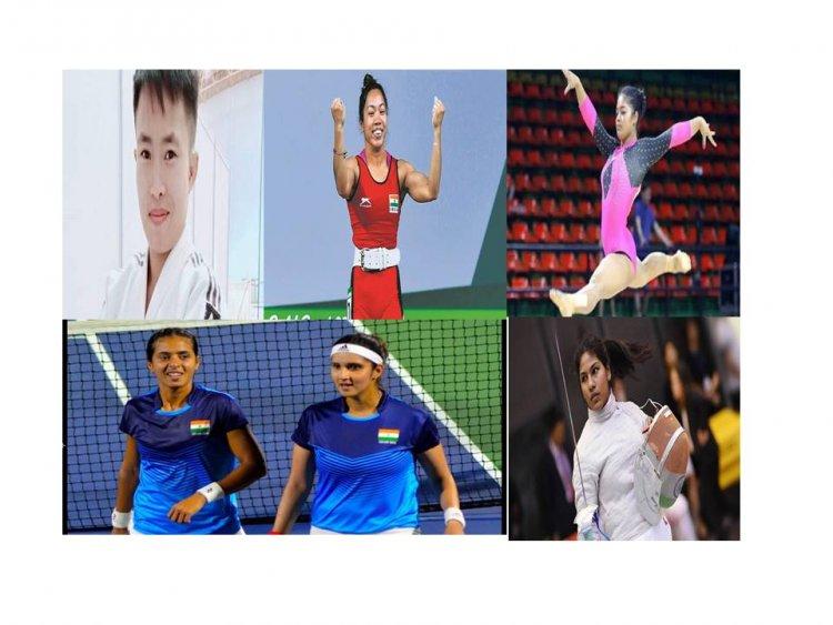 Tokyo Olympics 2021 : महिलाओं ने मारी शुरुवाती बाज़ी , 5 खेलों में महिलाएं कर रही हैं देश का प्रतिनिधित्व