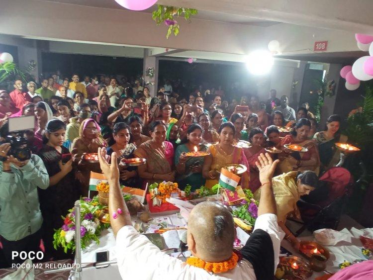 श्री राम कथा के अंतिम दिन की कथा सुनकर भक्त हुए भाव-विभोर