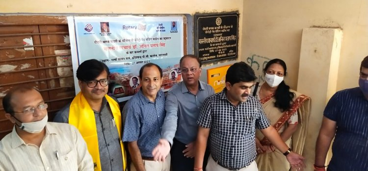 रोटरी निरंतर समाज सेवा के क्षेत्र में अपना महत्वपूर्ण योगदान देती है : डॉ. अनिल प्रताप सिंह
