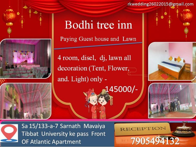 Bodhi tree inn Paying Guest house and Lawn