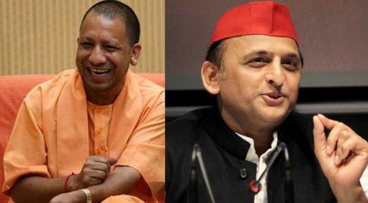 यूपी विधानसभा चुनाव के पहले योगी और अखिलेश यादव के बीच छिड़ी दिलचस्प ट्वीटर जंग