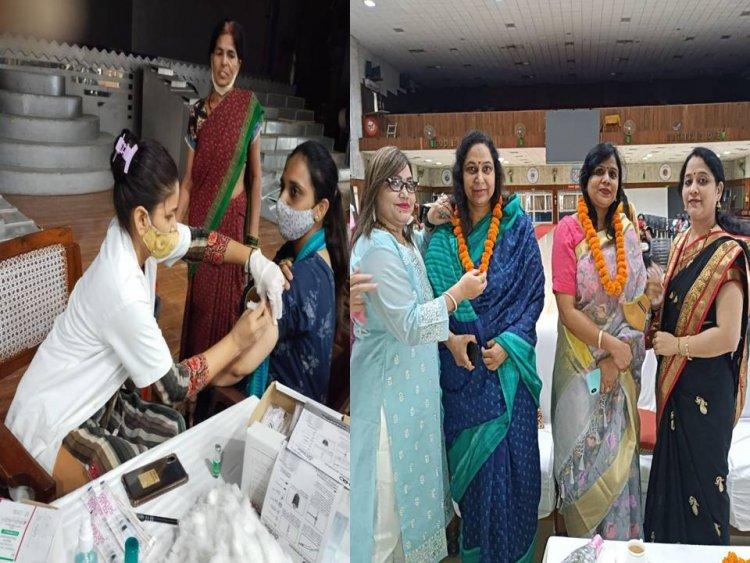 युवा हिंदू वाहिनी की तरफ से 500 लोगो को कराया गया निःशुल्क वैक्सीनेशन