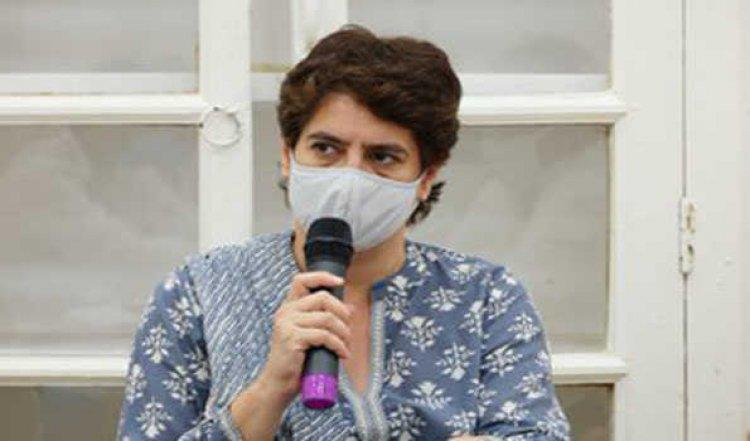 आगामी चुनाव में टिकट बटवारे में संगठन की रहेगी महत्वपूर्ण भूमिका : प्रियंका गांधी