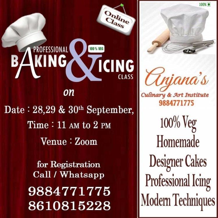 Anjana Culinary लेकर आ रही है प्रोफेशनल बेकिंग और आइसिंग क्लासेज, ग्रैब द अपॉर्चुनिटी