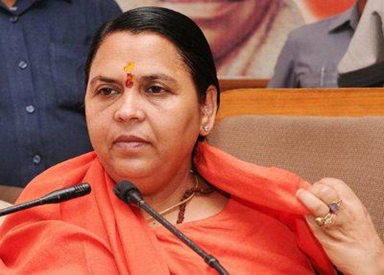 कांग्रेस के नेताओ को जिन मुद्दों पर बोलने का अधिकार नही हैं उन पर ना बोले : उमा भारती