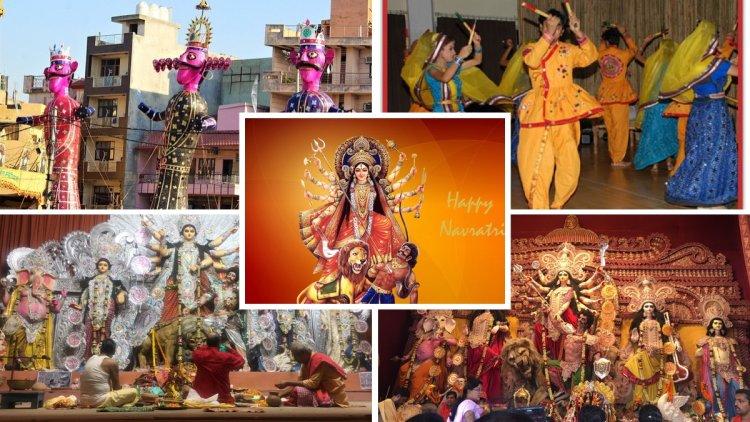 देश के कोने-कोने से नवरात्री के रंग देखें यहाँ